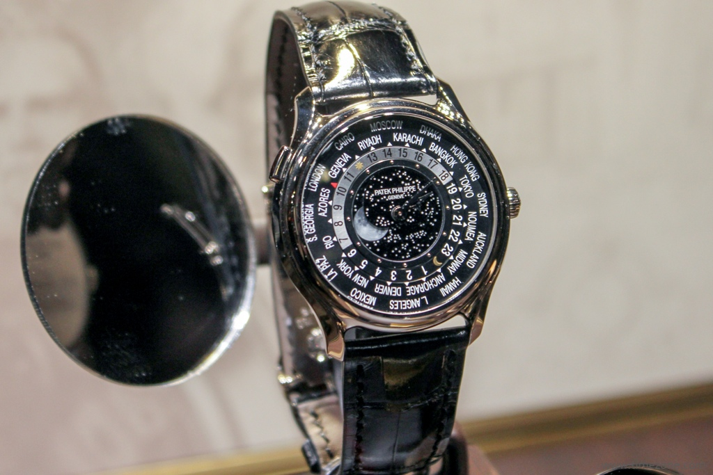 Patek Philippe World Time Moon, Patek 5575, Patek World Time Moon 5575G-001