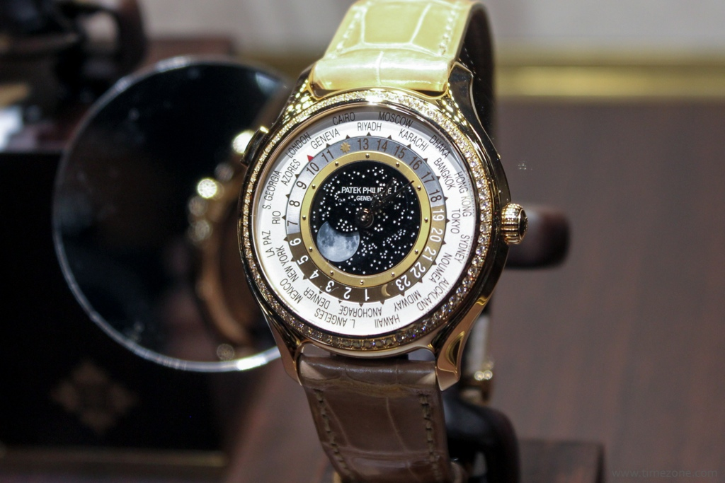 Patek Philippe World Time Moon, Patek 7175, Patek World Time Moon 7175R-001