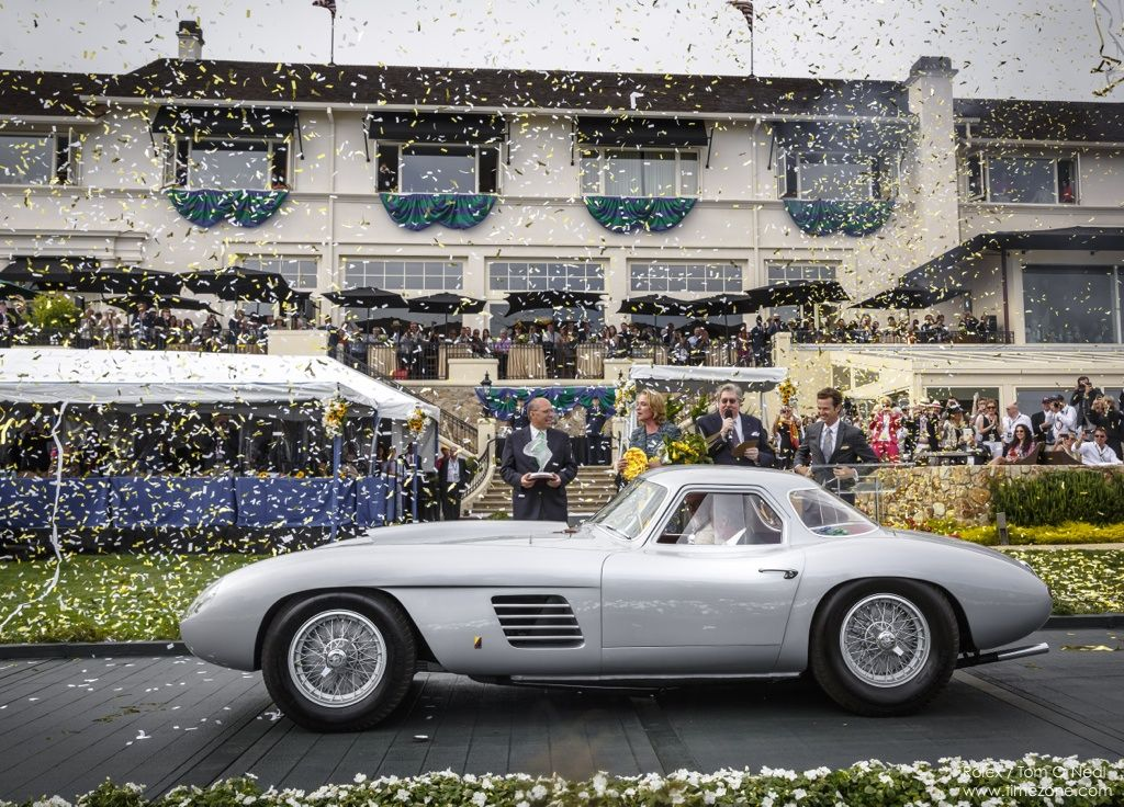 1954 Ferrari 375 MM Scaglietti Coupe, Jon Shirley Pebble Beach, First Ferrari Pebble Best of Show, Ferrari Pebble Beach