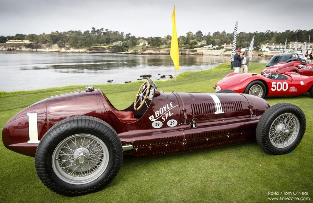 Maserati 8CTF, Boyle Special, Monterey Motorsports Boyle Special