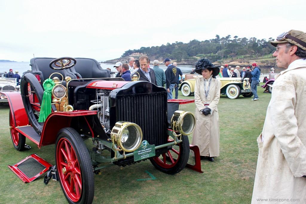 1907 White Model G, Pebble Beach Steam, White Model G Runabout Prototype
