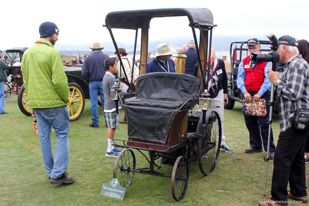 1892 Philion Road Carriage, Pebble Beach Steamer, Philion Chicago World's Fair
