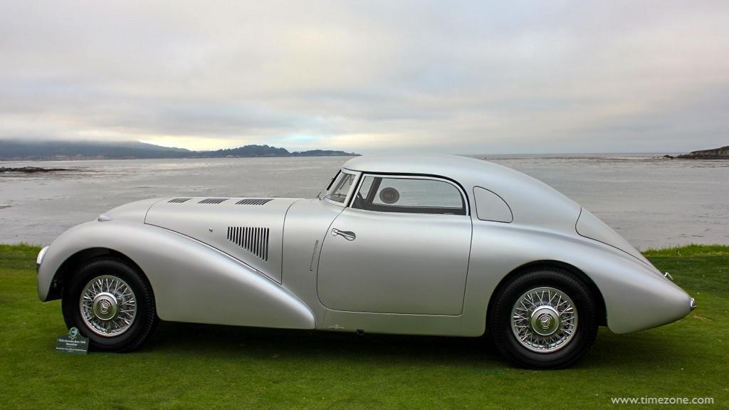 1938 Mercedes-Benz 540K Streamliner, Pebble Beach Mercedes-Benz, Mercedes-Benz 540K Streamliner