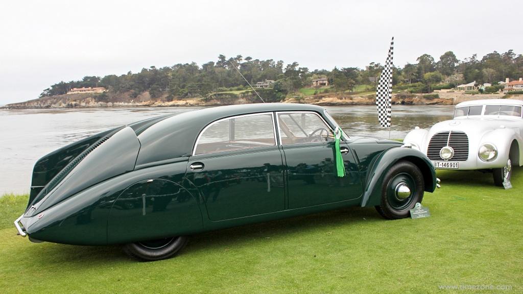 1936 Tatra Type 77, Pebble Beach Tatra, Tatra T77