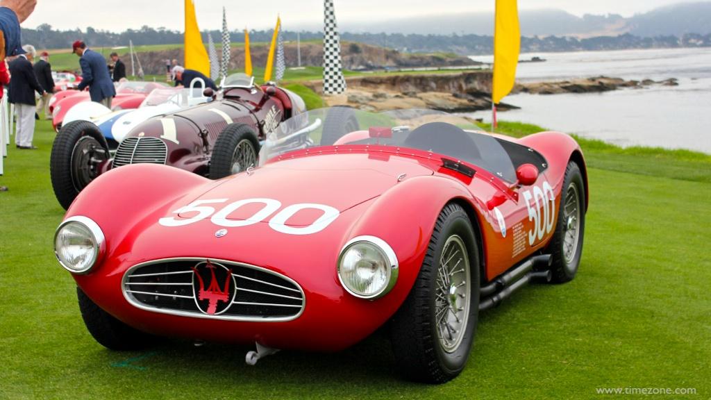 1954 Maserati A6GCS, Pebble Beach Maserati, Maserati A6GCS