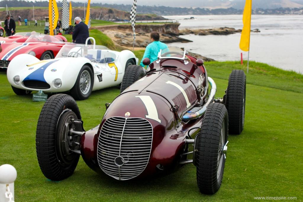 1938 8CTF Boyle Special, Pebble Beach Maserati, Maserati Boyle Special