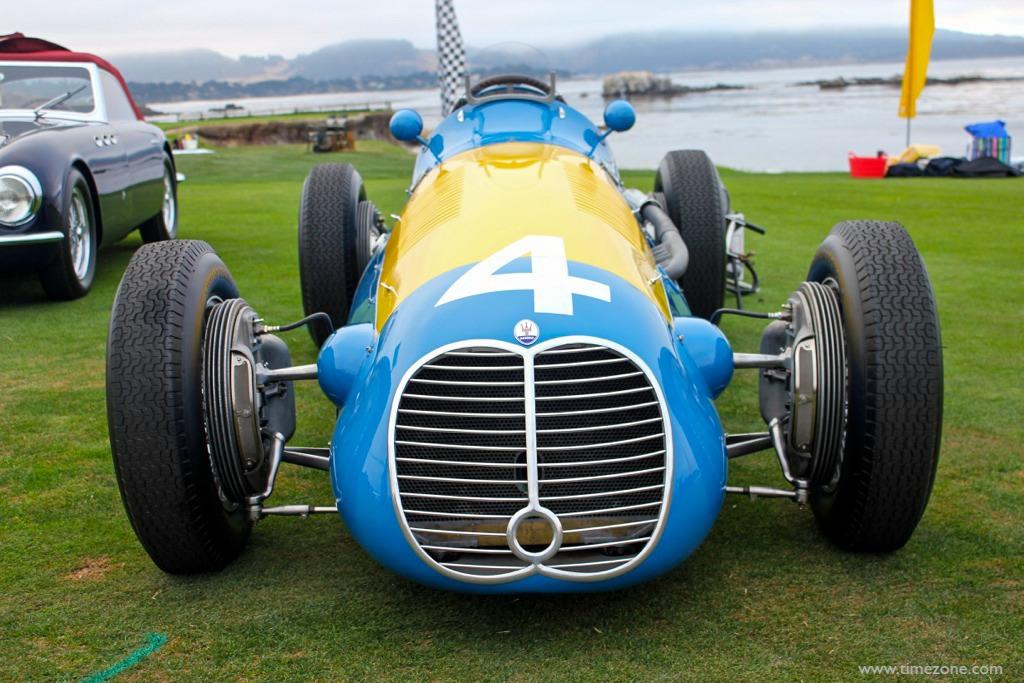 Maserati 250F Monoposto, Pebble Beach Maserati, Fangio Maserati 250F