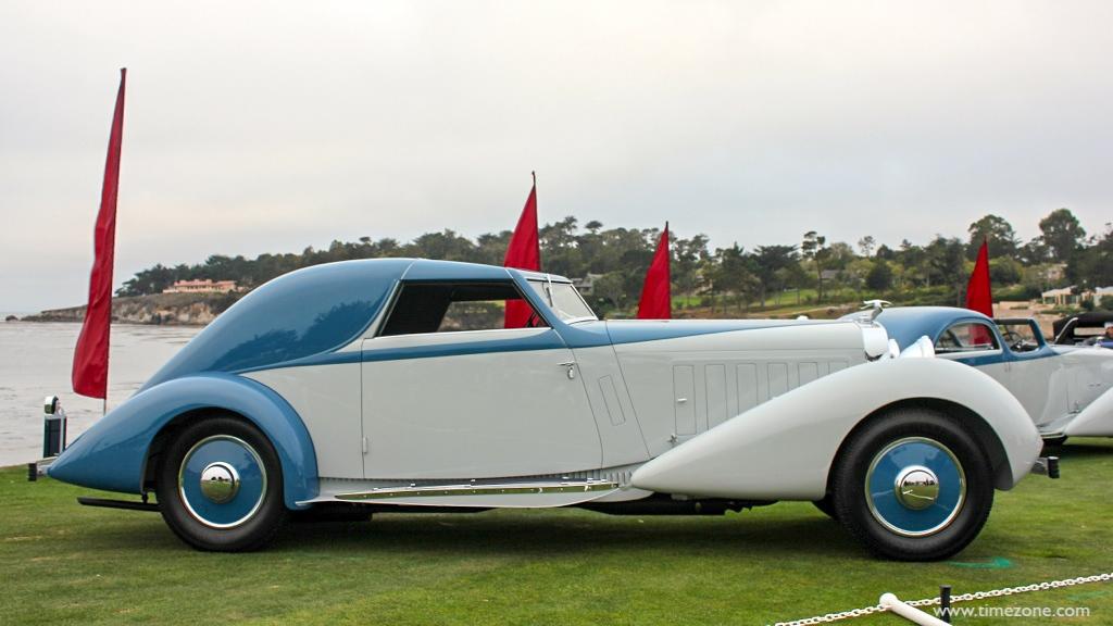 Fernandez et Darrin, 1934 Hispano-Suiza J12, Pebble Beach Darrin