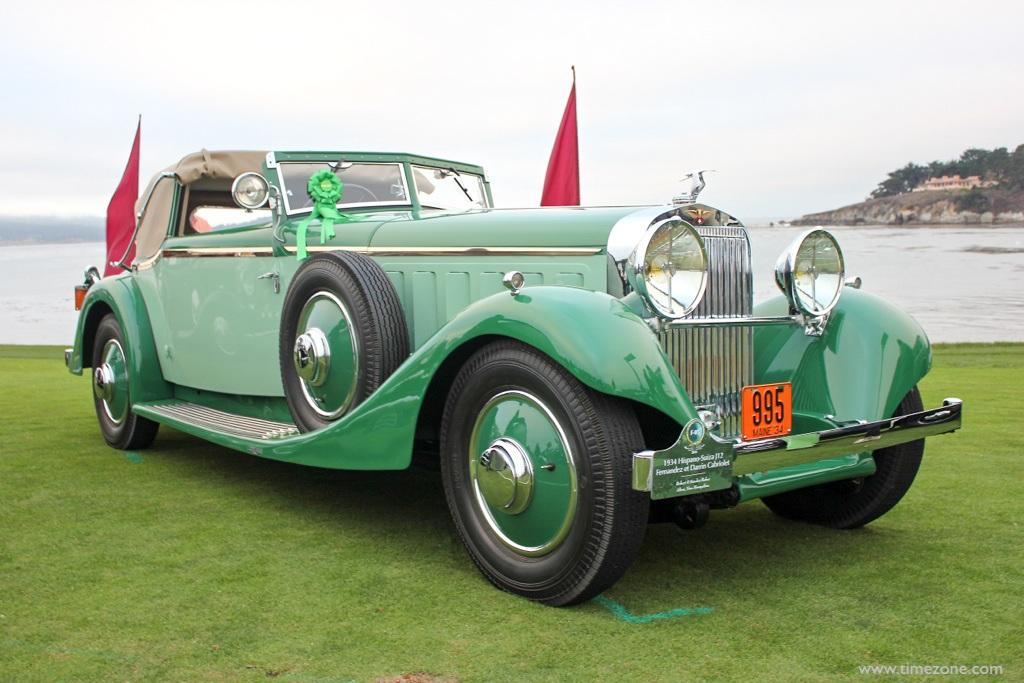 1934 Hispano-Suiza J12 Fernandez et Darrin, Pebble Beach Darrin, 1934 Hispano-Suiza J12