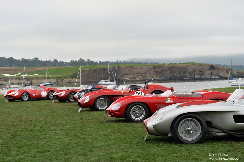 Ferrari 250 Testa Rossa, Pebble Beach Ferrari, Ferrari Testa Rossa