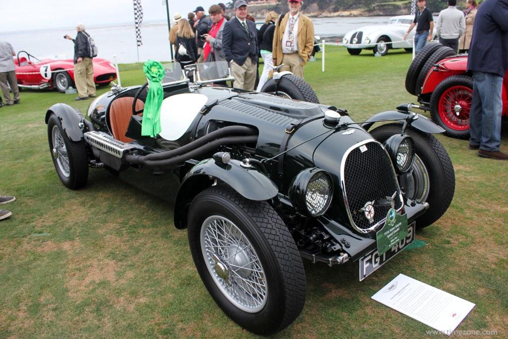1936 Aston Martin Speed Model, Pebble Beach Aston Martin, Aston Martin Speed Model