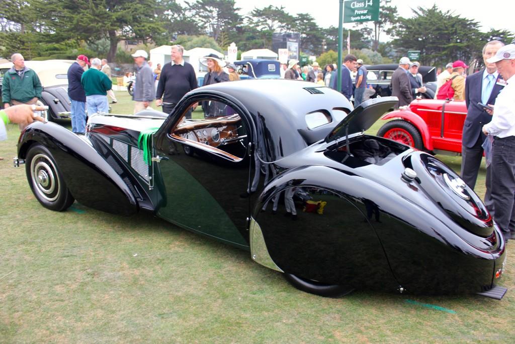 1937 Bugatti Type 57SC Atalante, Pebble Beach Bugatti, Bugatti Type 57SC Atalante