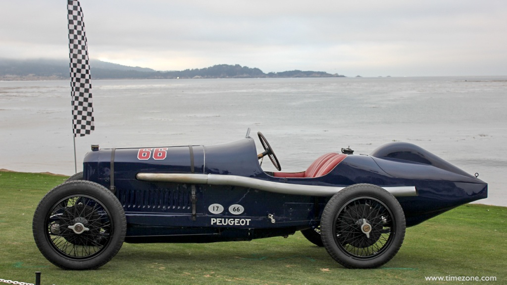 1914 French Grand Prix trophy, Pebble Beach 1914 French Grand Prix