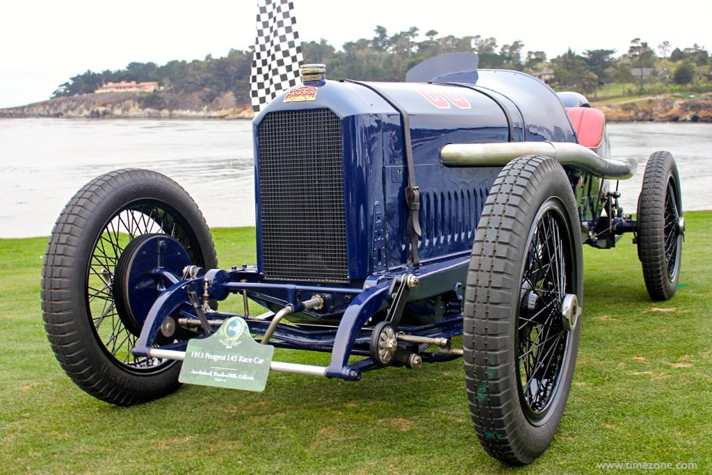1914 French Grand Prix trophy, Pebble Beach 1914 French Grand Prix