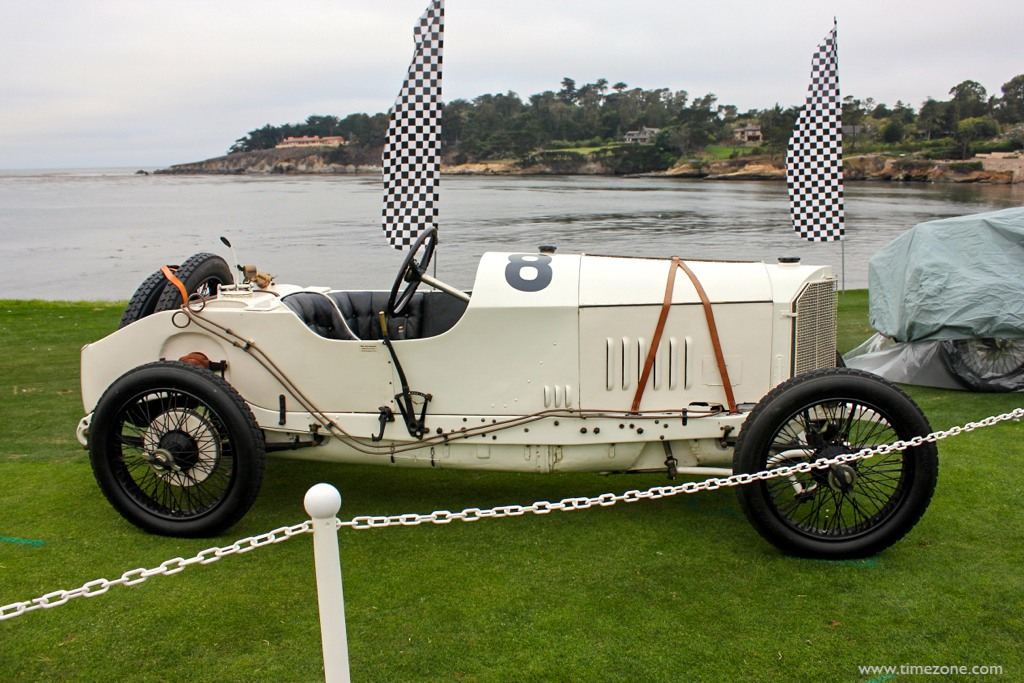 1914 Mercedes Grand Prix, 1914 Mercedes, 1914 French Grand Prix trophy, Pebble Beach 1914 French Grand Prix