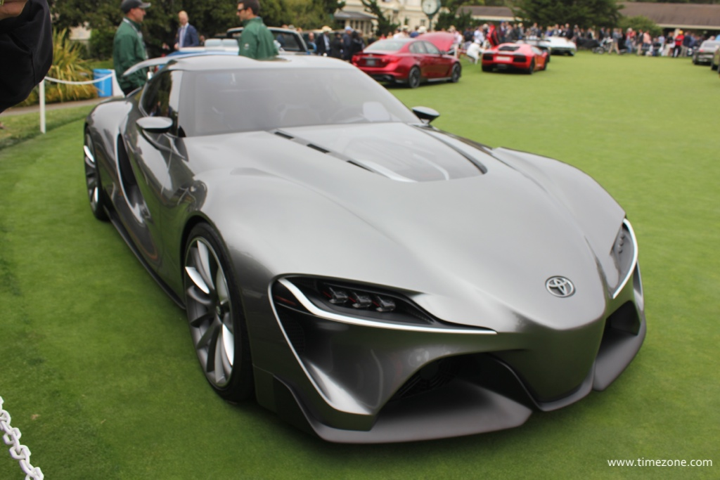 Toyota FT-1, Toyota Pebble Beach concept