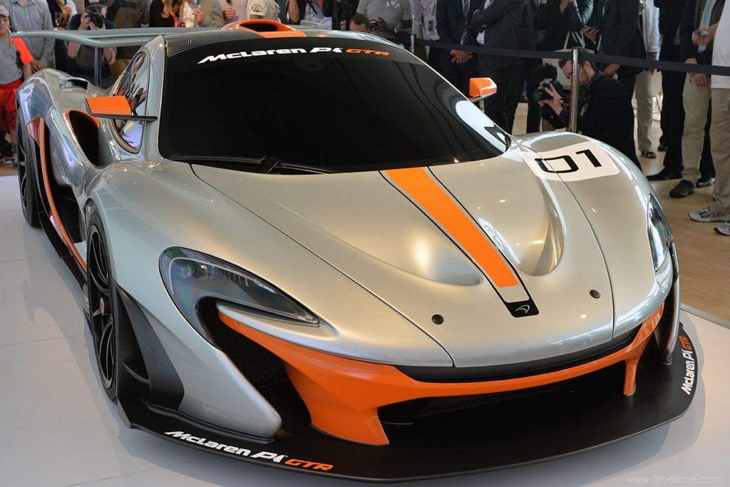 McLaren P1 GTR, McLaren Pebble Beach