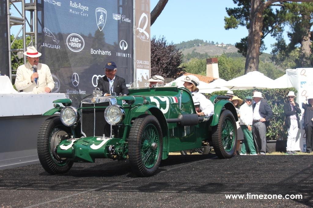1933 MG, Quail MG
