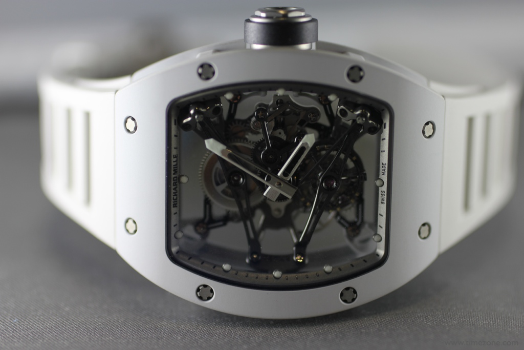 Bubba Watson Richard Mille, Richard Mille RM 038 Tourbillon, RM038 Bubba, Richard Mille WE54 magnesium, Miarox