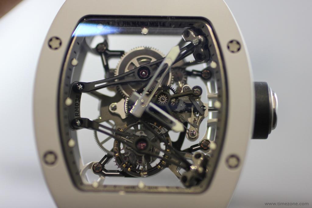 Bubba Watson Richard Mille, Richard Mille RM 038 Tourbillon, RM038 Bubba, Caliber RM 038