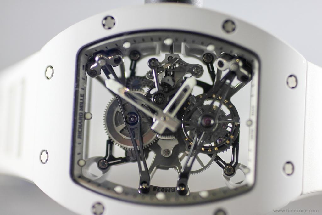 Bubba Watson Richard Mille, Richard Mille RM 038 Tourbillon, RM038 Bubba, Calibre RM038
