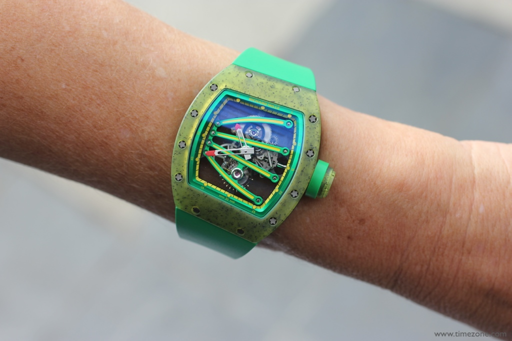 Richard Mille Yohan Blake, Richard Mille RM059, RM 059 Tourbillon, Yohan Blake Tourbillon