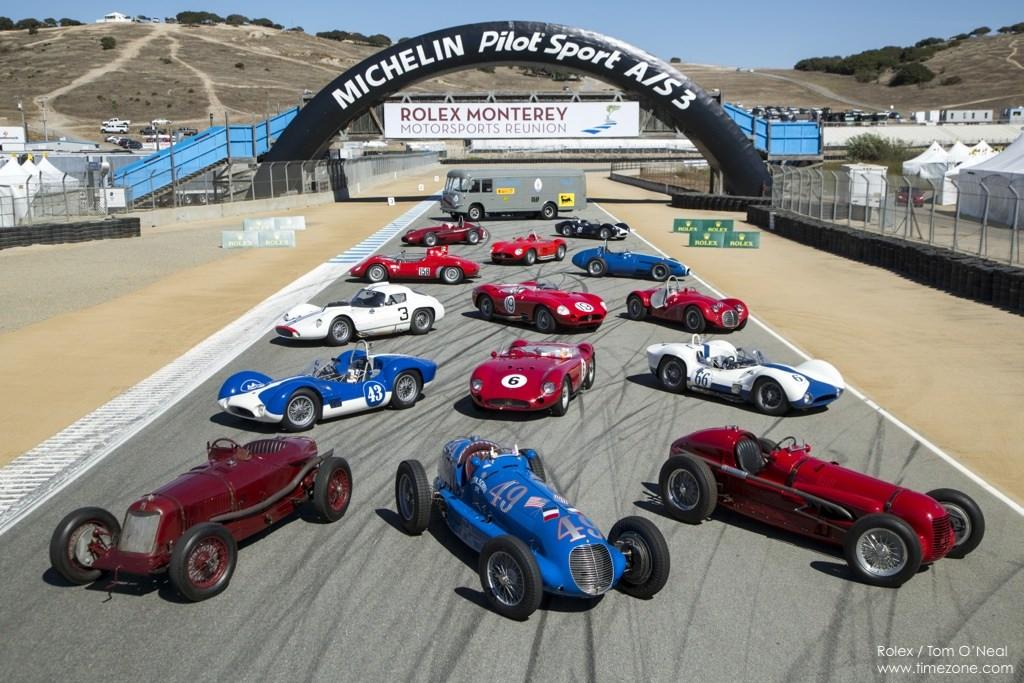 100 Years of Maserati, Monterey Motorsports Reunion, Maserati Century, Maserati Centennial Monterey