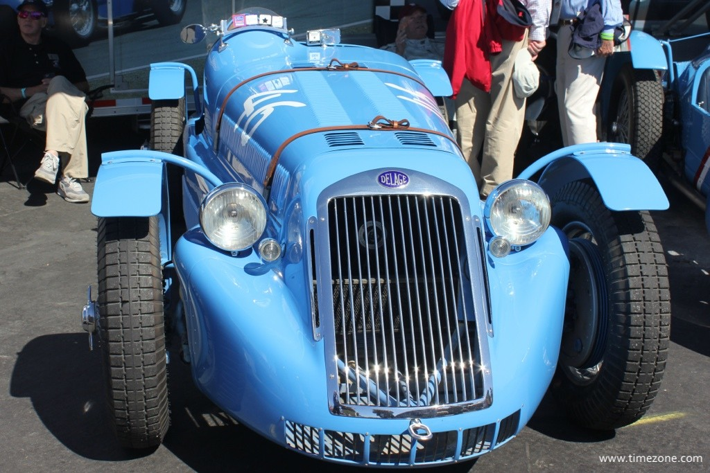 1946 Delage D6-L3, Delage D6-L3, Rolex Monterey Motorsports Reunion