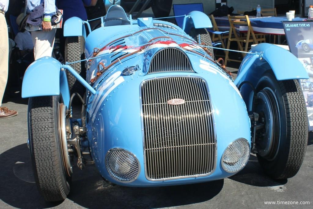 1936 Delahaye Type 145, Delahaye Type 145, Rolex Monterey Motorsports Reunion