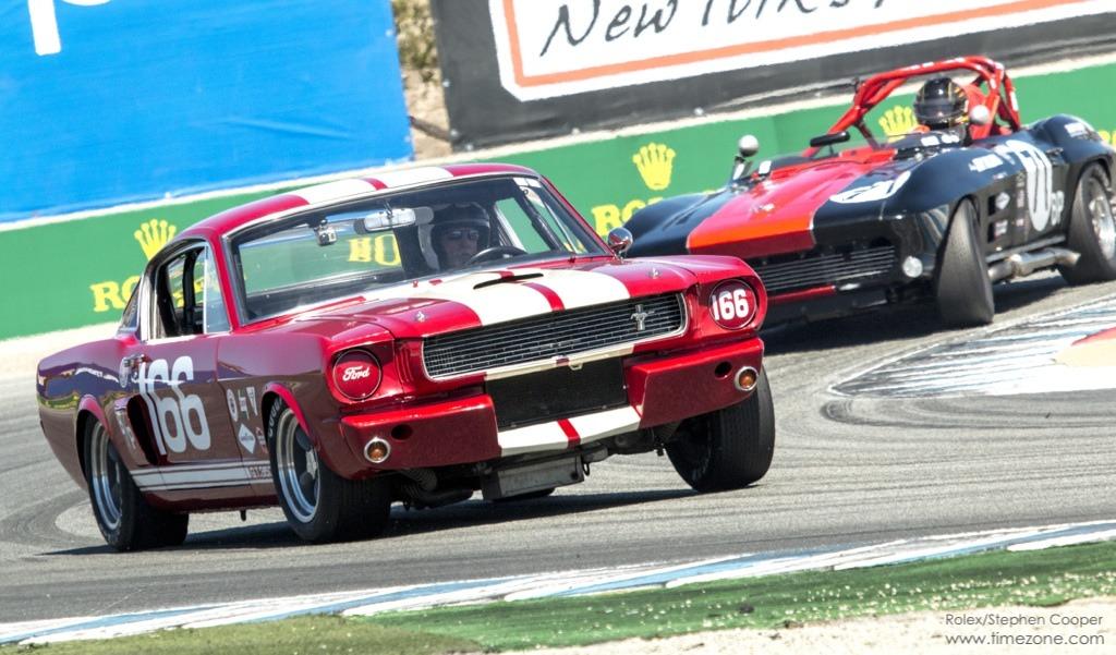 1966 Ford Shelby GT350, Shelby GT350, 1964 Chevrolet Corvette, Corvette Monterey, Rolex Monterey Motorsports Reunion
