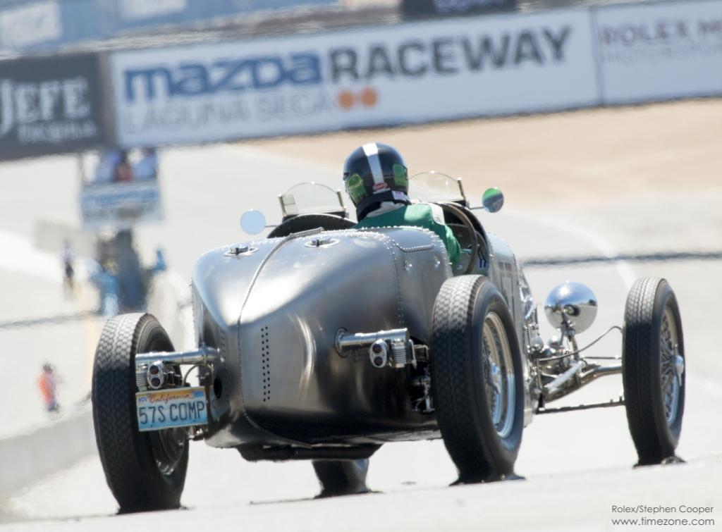 Jim Hull, 1935 Bugatti Type 57SC Electron Torpedo, 1935 Bugatti 57SC Electron Torpedo, Bugatti Electron, Rolex Monterey Motorsports Reunion