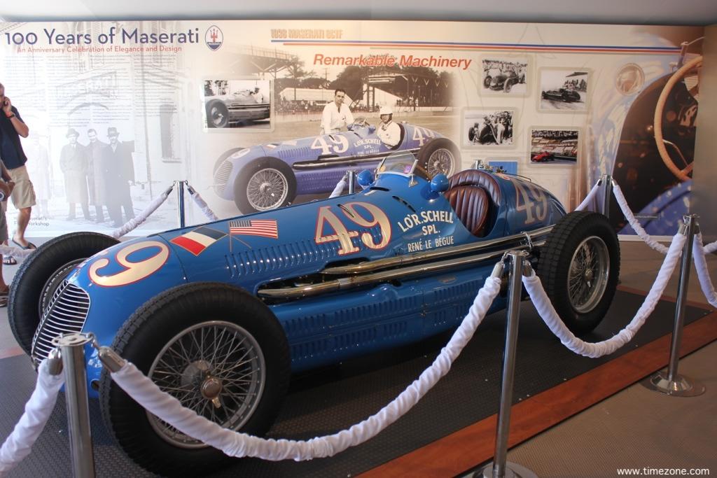 1938 Maserati 8CTF, Maserati Lucy O'Reilly Schell, Lucy O'Reilly Schell, Ecurie Bleue 8CTF