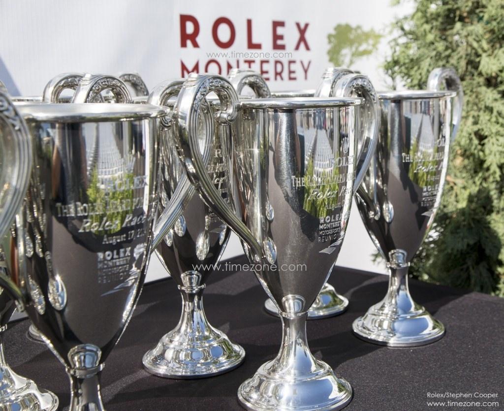Rolex Monterey trophy, Rolex Monterey Motorsports Reunion, Rolex Maserati Centennial
