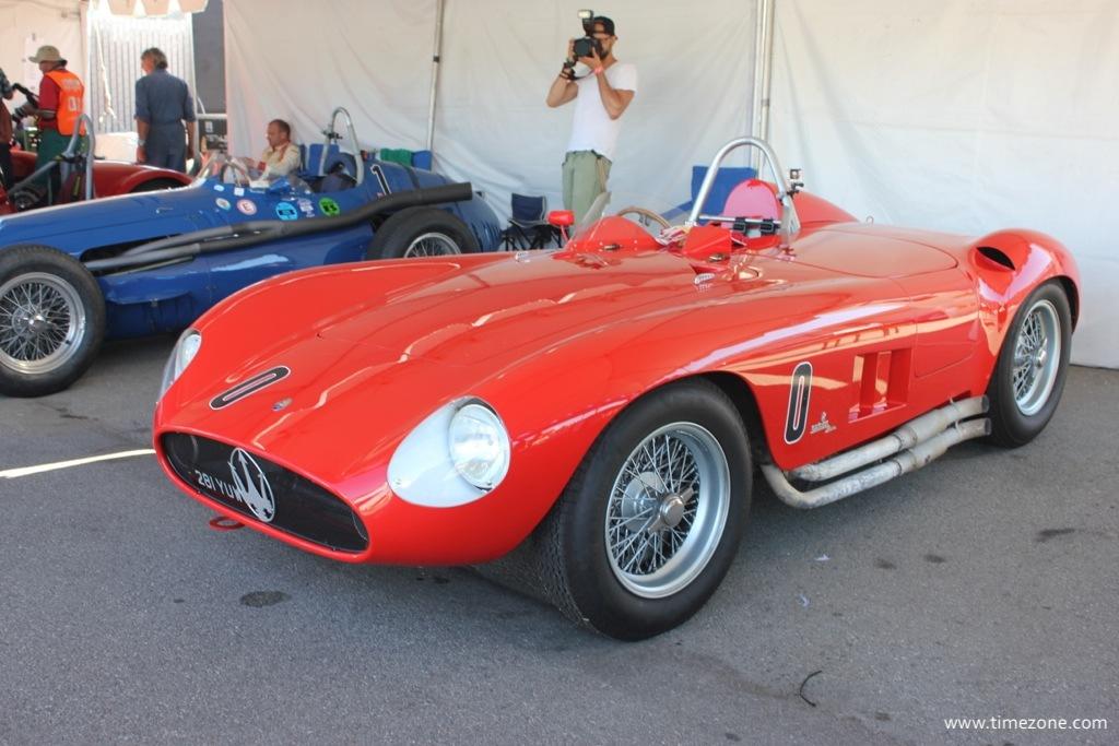 1955 Maserati 300S, Maserati 300S, Monterey Motorsports