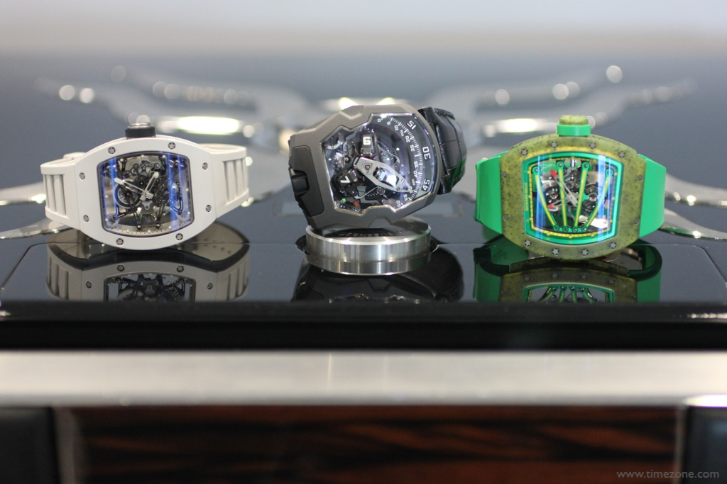 Richard Mille, Urwerk, RM 038 Tourbillon, RM 059 Tourbillon, UR-210