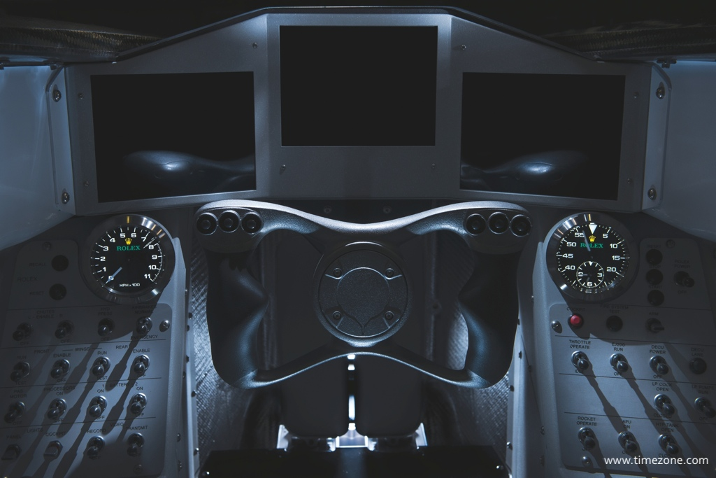 Rolex Bloodhound, Bloodhound SSC, Rolex speedometer, Rolex GPS speedometer, Rolex GPS chronograph