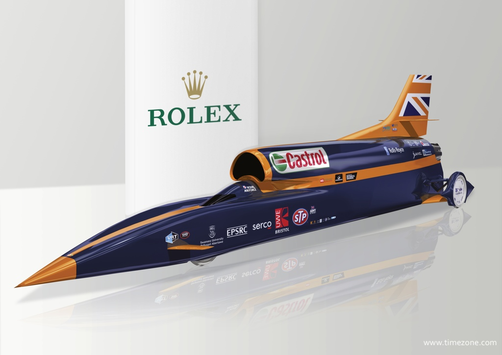 Rolex Bloodhound, Bloodhound SSC, Bloodhound Supersonic Car