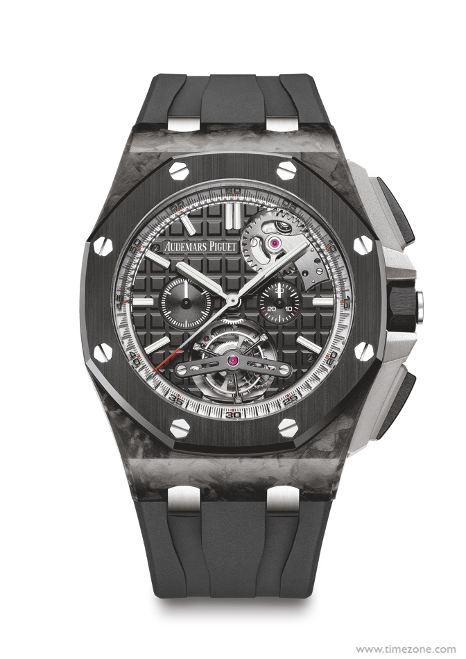 Audemars Piguet Royal Oak Offshore Self-Winding Tourbillon Chronograph, Royal Oak offshore 26550AU, ROO STC, ROO 26550AU