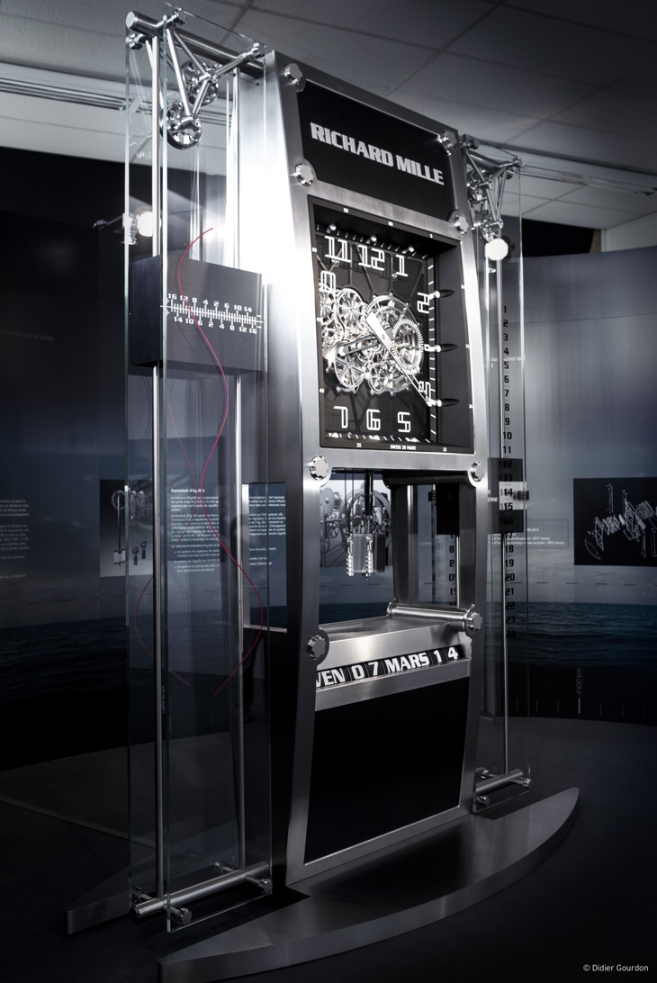 Richard Mille Clock, Richard Mille Quebec, Richard Mille constant force, Richard Mille remontoir d'elegalite, l'Horloge Porte-bonheurE