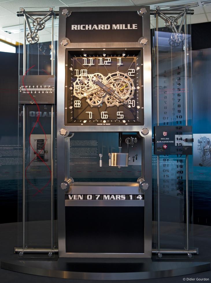 Timezone richard mille richard mille quebec clock l for La porte in time zone