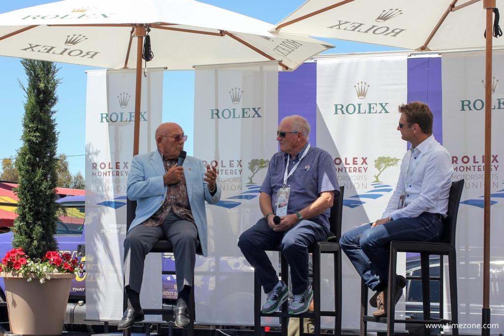 Chopard Stirling Moss, Stirling Moss wrist watch, Stirling Moss Monterey Motorsports, Rolex Monterey Motorsports Reunion