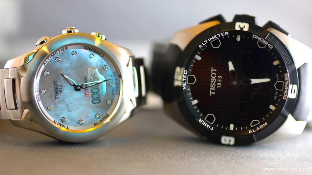 Tissot T-Touch Expert Solar, Swatch smartwatch, Tissot smartwatch