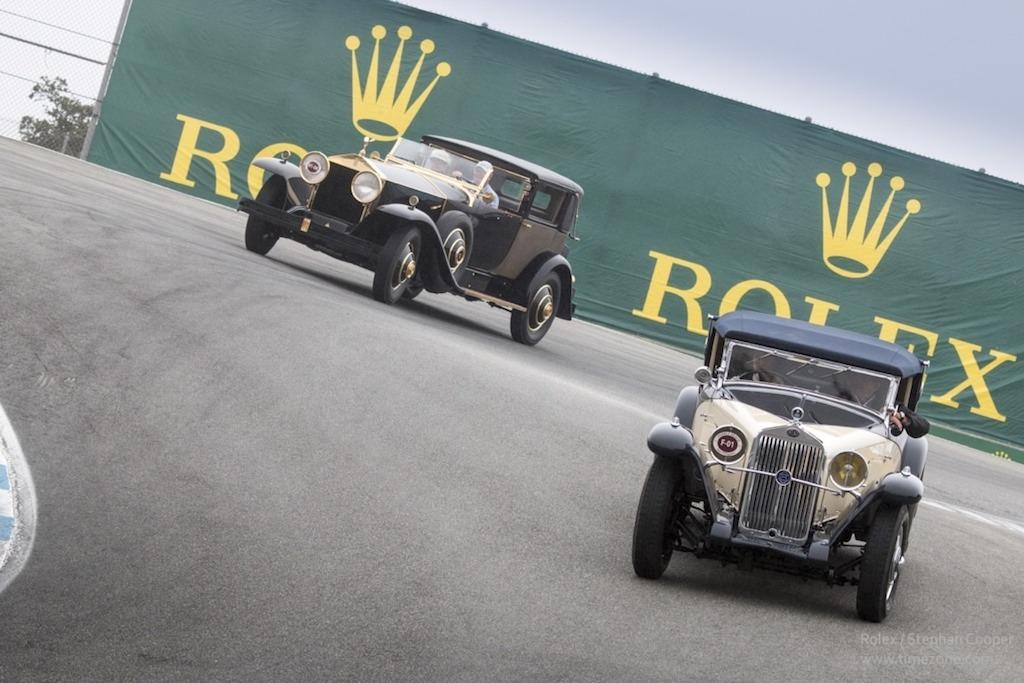 1931 Delage D8, 1929 Rolls Royce Phantom, Pebble Beach Tour D'Elegance, Rolex Pebble Beach, Monterey Car Week