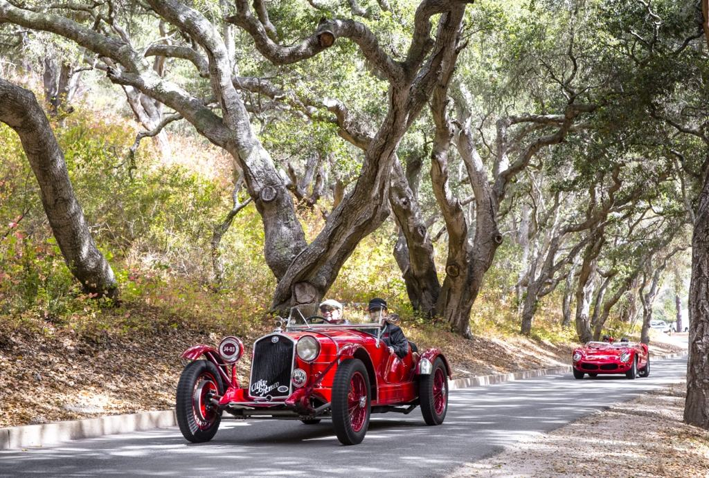 1930 Alfa Romeo 6C 1750 Super Sport Brianza Roadster, Alfa 6C, Pebble Beach Tour D'Elegance, Rolex Pebble Beach, Monterey Car Week