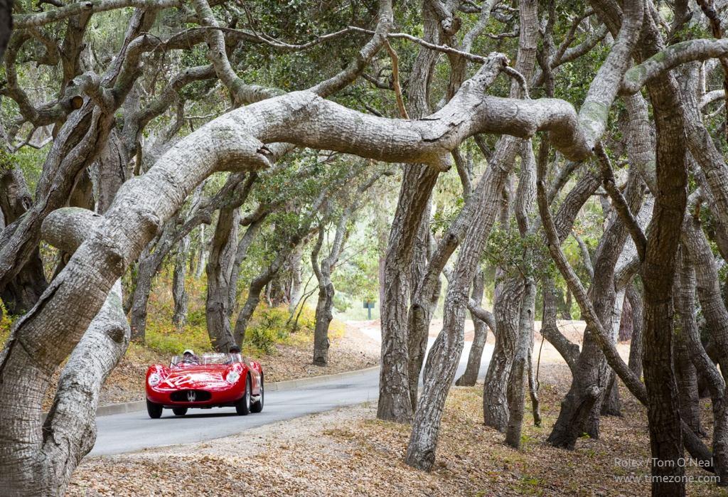 1957 Maserati 250S Fantuzzi Spyder, Maserati 250S, Pebble Beach Tour D'Elegance, Rolex Pebble Beach, Monterey Classic Car Week