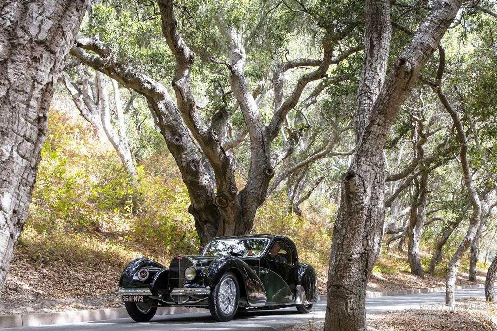 1937 Bugatti Type 57SC Atalante, Bugatti 57SC, Pebble Beach Tour D'Elegance, Rolex Pebble Beach, Monterey Classic Car Week