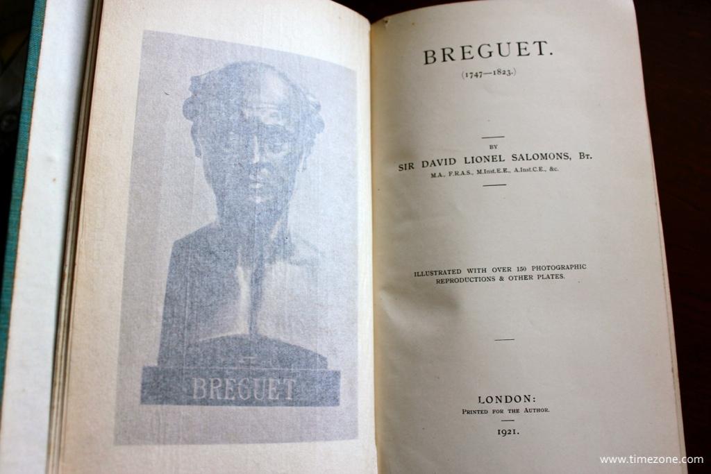 Breguet Sir David Lionel Salomons, Breguet Salomons, Breguet Salomons ereader