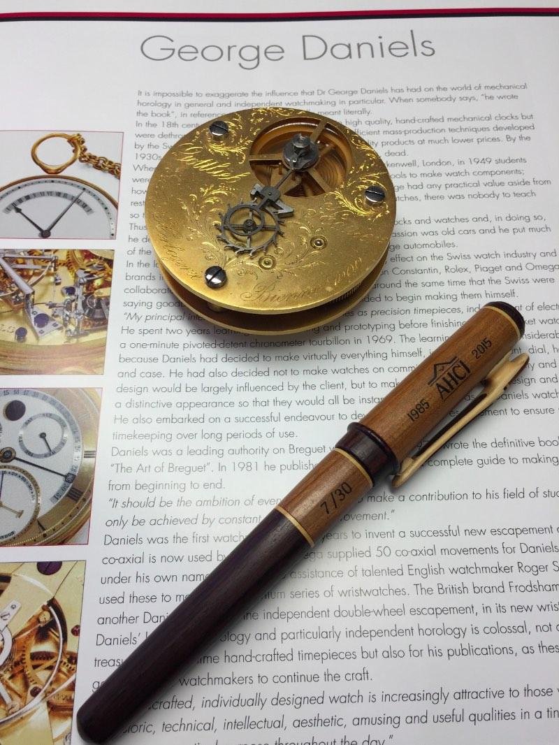 AHCI Anniversary, AHCI pen, Valerii Danevych, Valerii Danevych pen