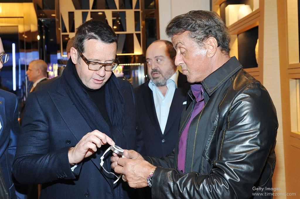 Audemars Piguet Beverly Hills, Audemars Piguet Rodeo Drive, François-Henry Bennahmias, Sylvester Stallone Audemars Piguet