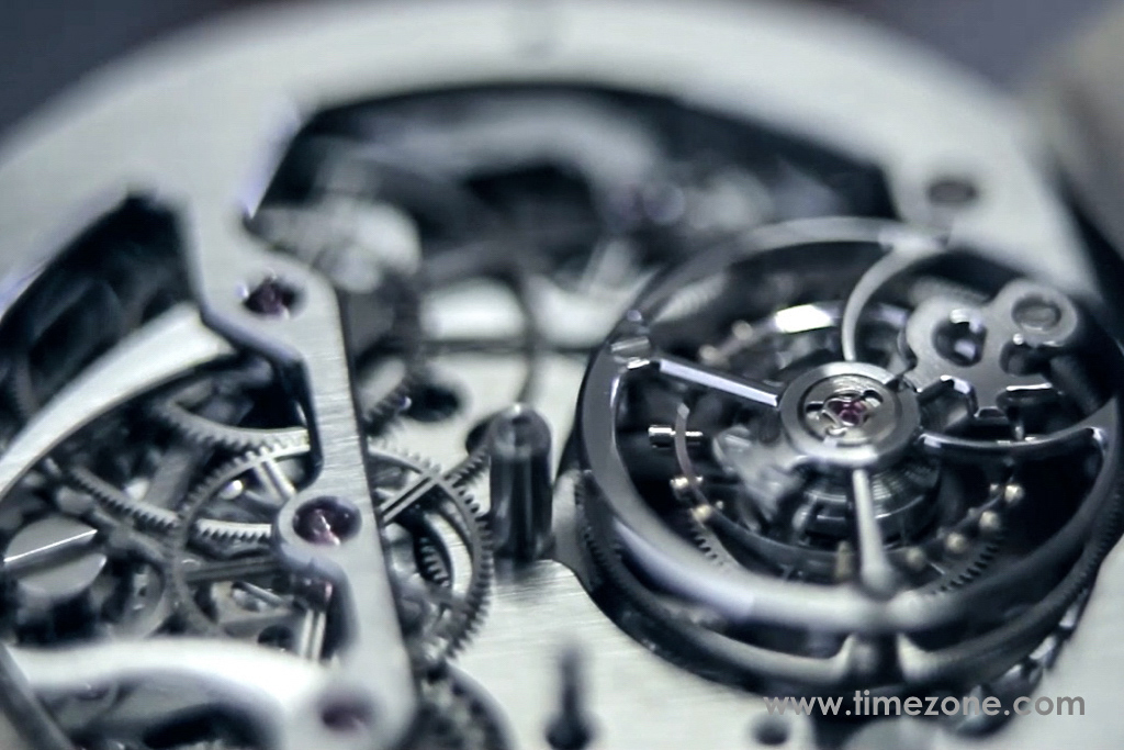 Bell & Ross BR-X1 Chronograph Tourbillon Monopusher,  BRX1 Chronograph Tourbillon review,  BRX1 Chronograph Tourbillon, Bell Ross review, BR Caliber 283 assembly, BR Cal.283, Bell Ross BR-X1 review, Bell Ross tourbillon